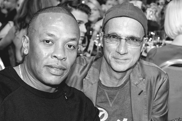 Beats cofounders Dr Dre and Jimmy Iovine