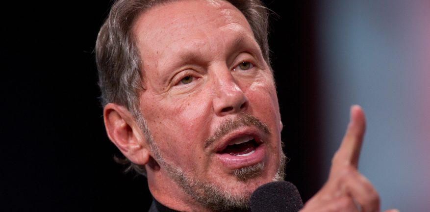 Former Oracle CEO Larry Ellison