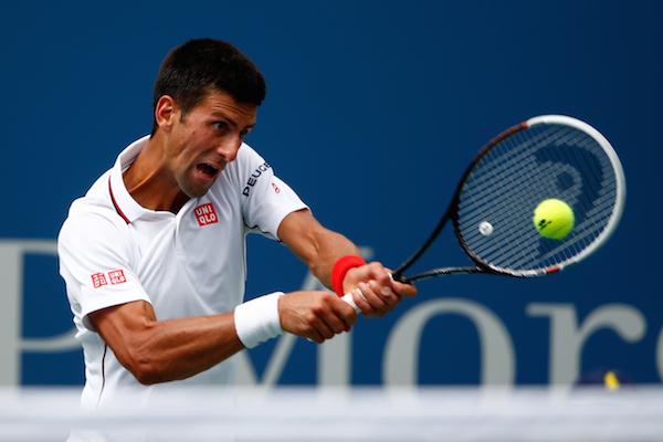 Novak Djokovic tennis extraordinaire