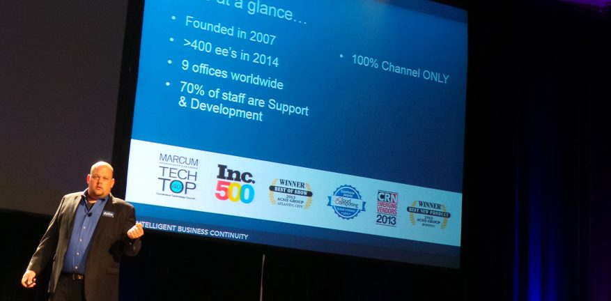 Rob Rae Datto VP delivers keynote address at GFI Max Conference