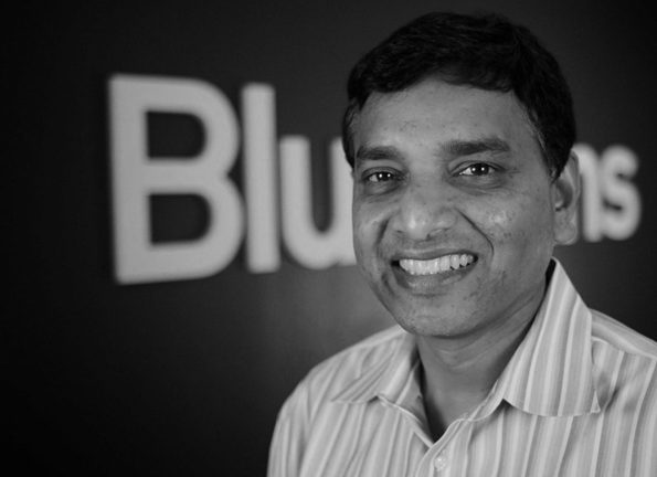 Krish Ramakrishnan CEO Blue Jeans Network