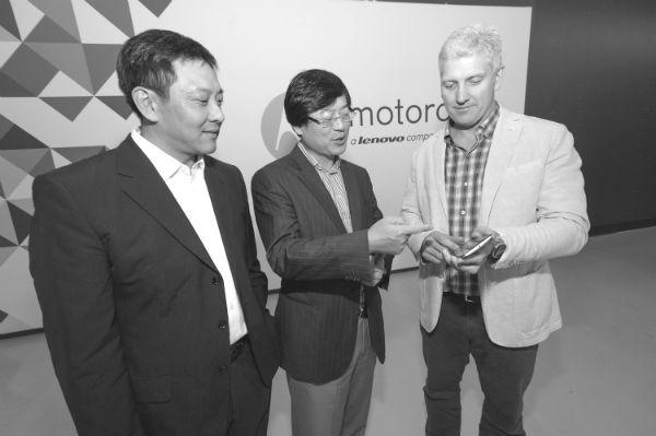 Lenovo top brass Liu Jun Yang Yuanqing Rick Osterloh