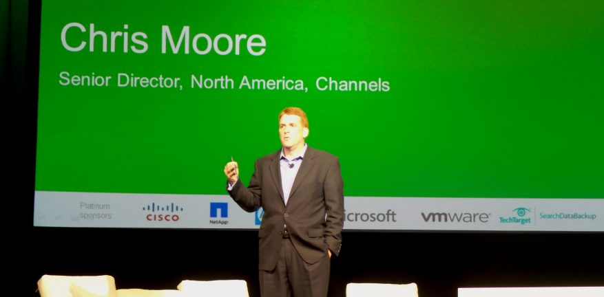Veeam Channel Chief Chris Moore