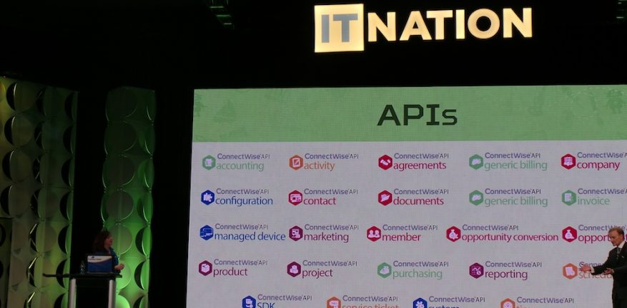 Jeannine Edwards and Arnie Bellini tell the IT Nation about ConnectWise39s new APIs and RESTful API development architecture