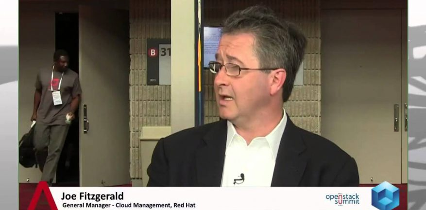 Joe Fitzgerald director of cloud strategy at Red Hat