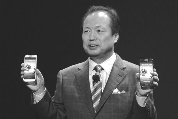 Samsung mobile chief JK Shin