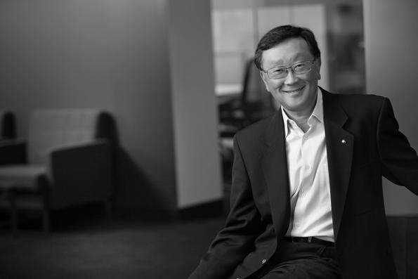 John Chen executive chairman and CEO BlackBerry