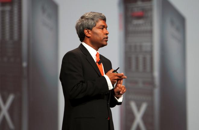 Thomas Kurian president of product development at Oracle