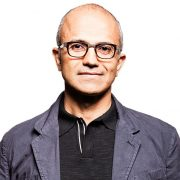 Satya Nadella president and CEO of Microsoft