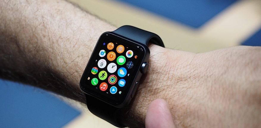 What will app developers create for Apple Watch and other wearable platforms using Salesforce cloud platforms and APIs