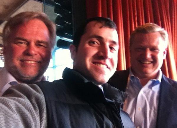 Kaspersky Lab CEO Eugene Kaspersky left MSPmentor Associate Editor Dan Kobialka and Kaspersky Lab Managing Director Chris Doggett