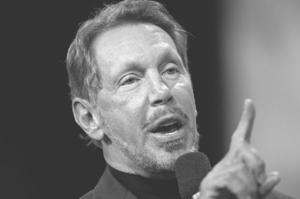 Oracle executive chairman and chief technology officer Larry Ellison
