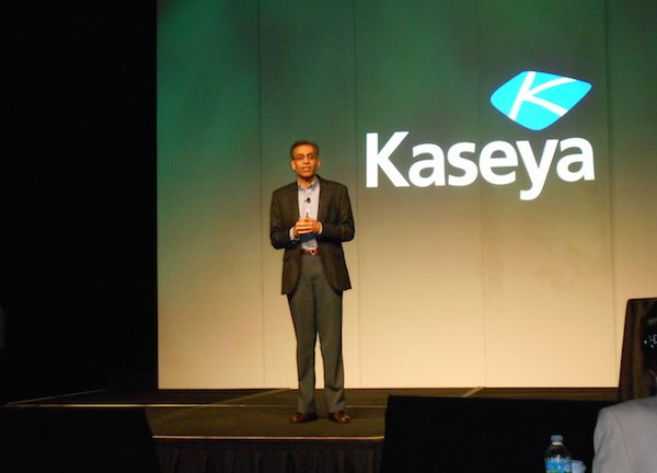 Kaseya CEO Yogesh Gupta at Kaseya Connect 2015