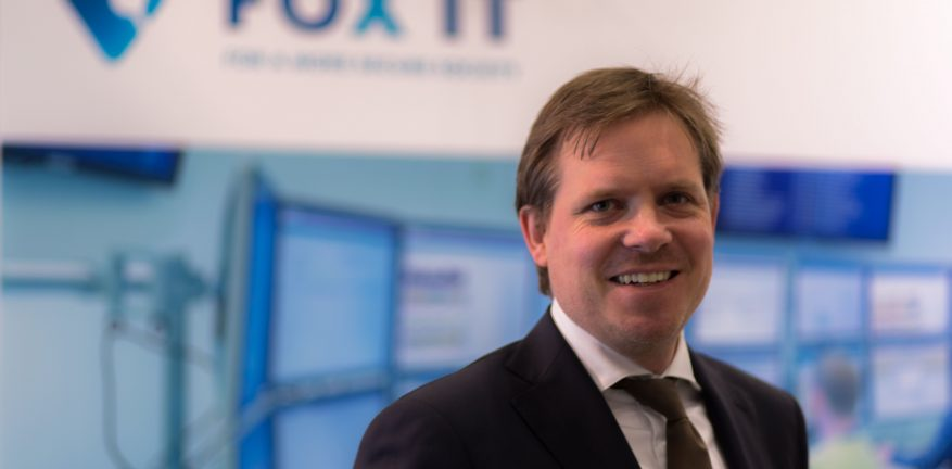 Pim Volkers executive vice president of FoxIT