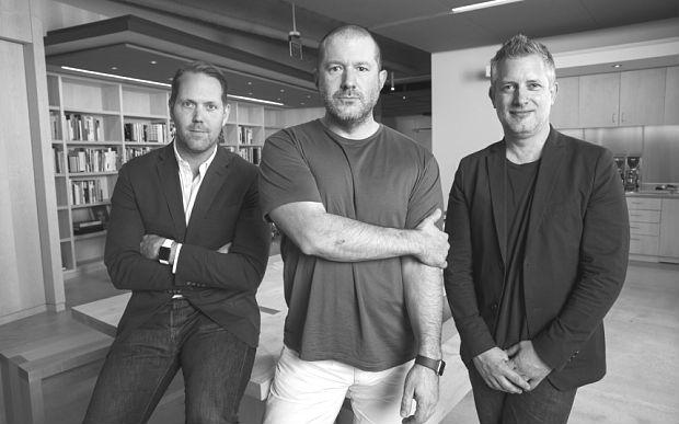 Apple39s design crew Dye Ive Howarth