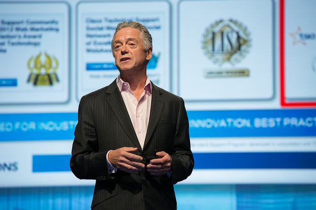 Nick Earle senior vice president of worldwide cloud sales and go to market strategy at Cisco