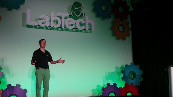LabTech CEO Matt Nachtrab at last year39s Automation Nation keynote