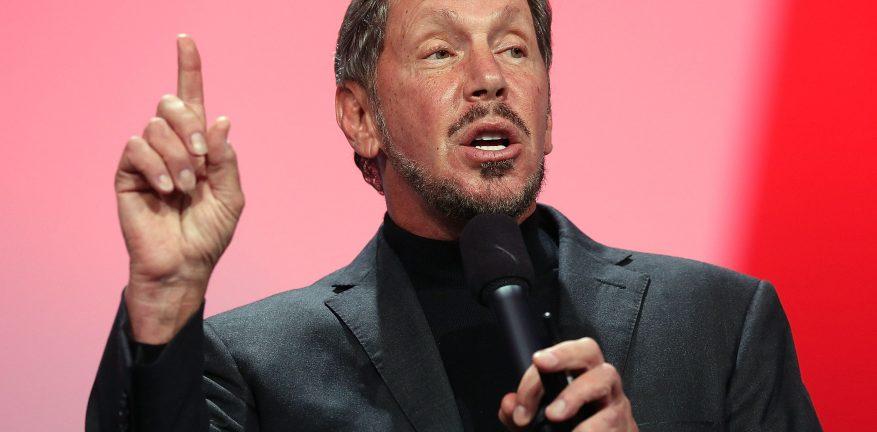 Oracle Executive Chairman Larry Ellison