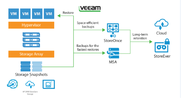 Tiered Data Protection: Together We Stand, Veeam & HP