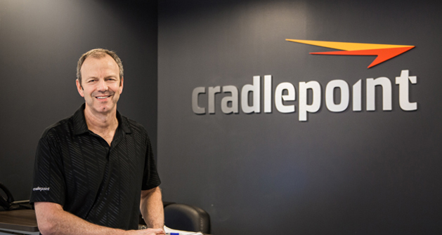 George Mulhern CEO and chairman of the board for Cradlepoint