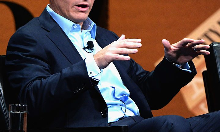 FireEye President Kevin Mandia speaks at an event in October 2014