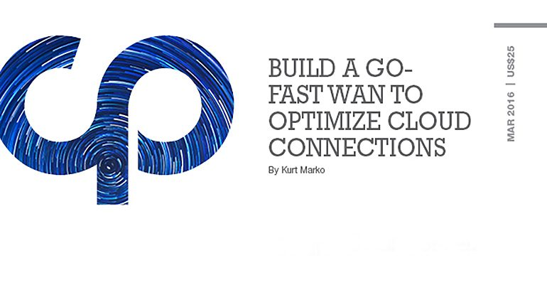 Build a Go-Fast WAN to Optimize Cloud Connections