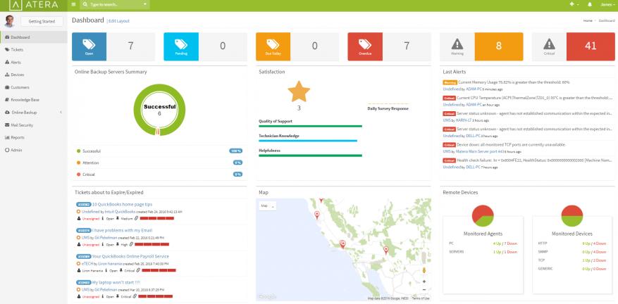 Atera Releases AllinOne RMM PSA Remote Connection Platform