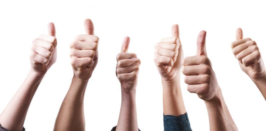 Group Thumbs-Up