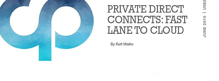 Private Direct Connects: Fast Lane to Cloud
