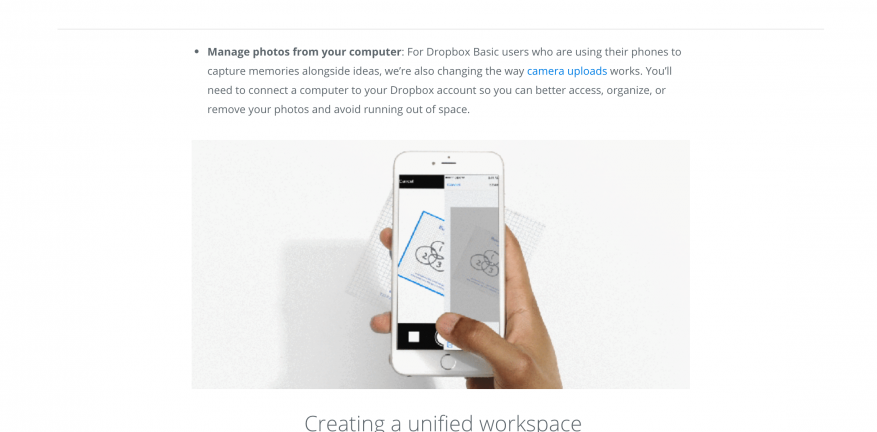Dropbox Adds Document Scanning Creation Tools in Enterprise Push