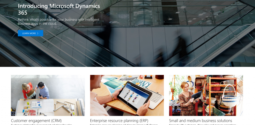 Microsoft Ups Cloud Fight With Dynamics 365