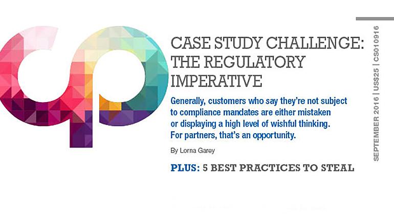 Case Study Challenge: The Regulatory Imperative