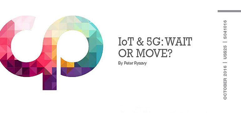 IoT & 5G: Wait or Move?
