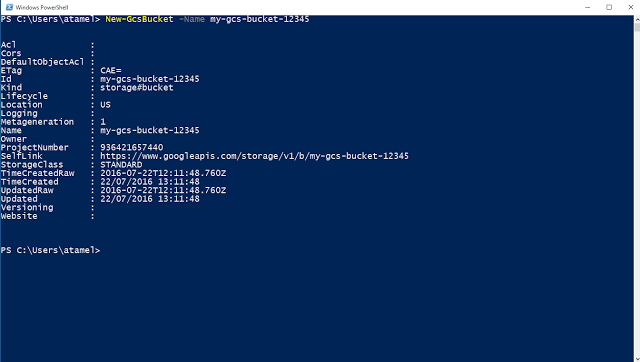 Google Releases Cloud Tools for PowerShell
