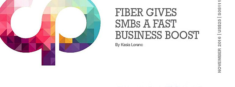 Fiber Gives SMBs a Fast Business Boost