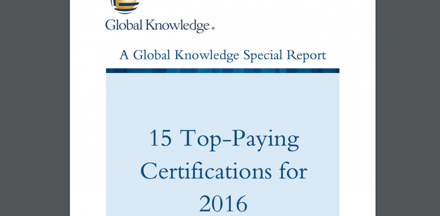 15 TopPaying Certifications for 2016