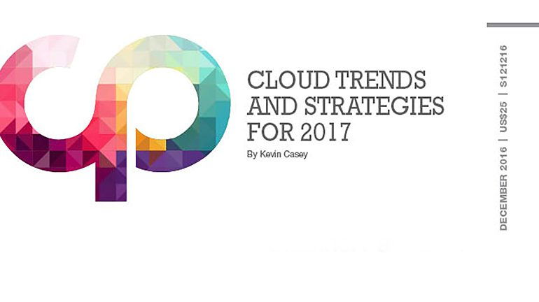 Cloud Trends and Strategies for 2017