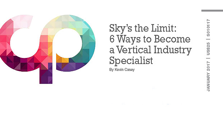Sky's the Limit: 6 Ways to Become a Vertical Industry Specialist