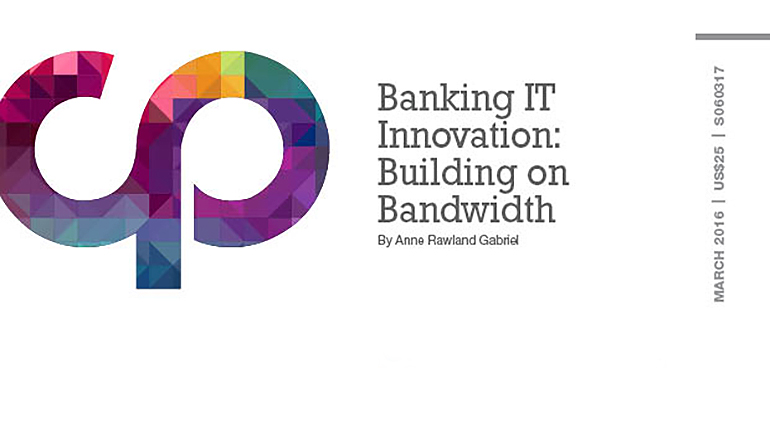 Banking IoT Innovation: Building on Bandwidth