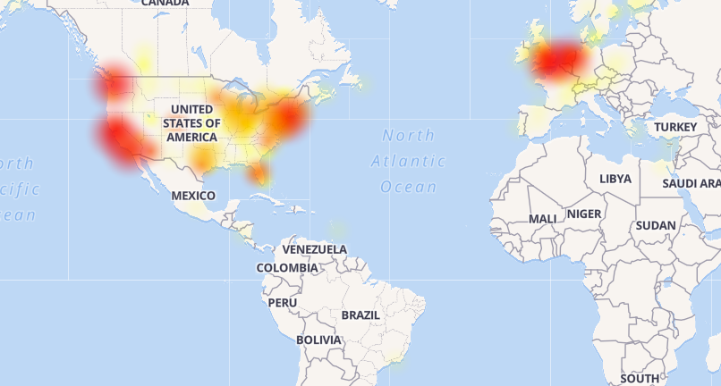 Major Outage Shuts Down Office 365 in US Europe