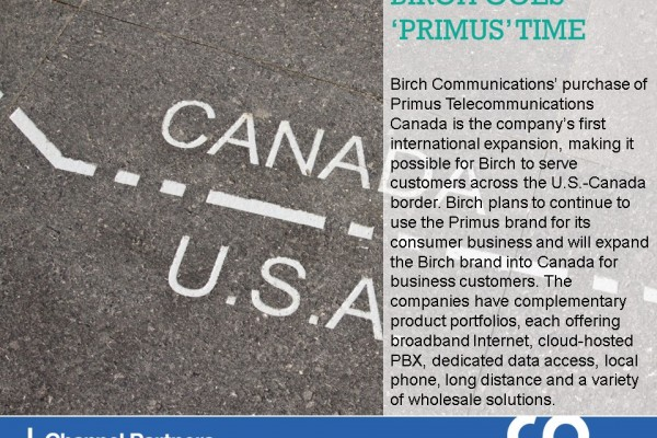 Biggest M&A of March-April: Birch-Primus Canada