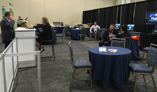 Channel Partners Evolution Expo Hall: ScanSource VIP Lounge