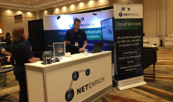 Ingram Micro Cloud Summit: NetEnrich