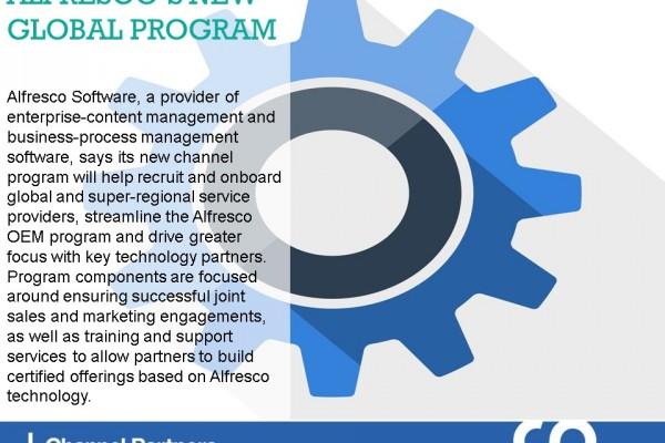 Channel Program Changes: Alfresco Software