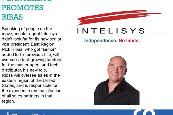 January's Top Stories: Intelisys Promotes Ribas