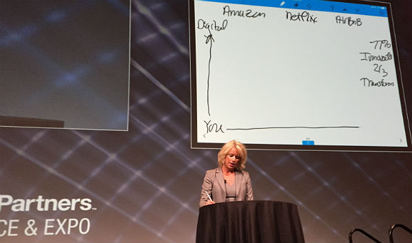 On Stage at Channel Partners: CenturyLink's Tina Smith