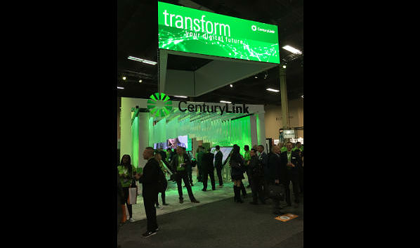 The Channel Partners Expo Hall: CenturyLink