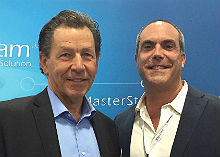 Salestream's Steve Roberts (left) and Jeff Fraser