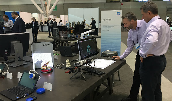 HP/HPE Global Partner Conference: Cool Demo