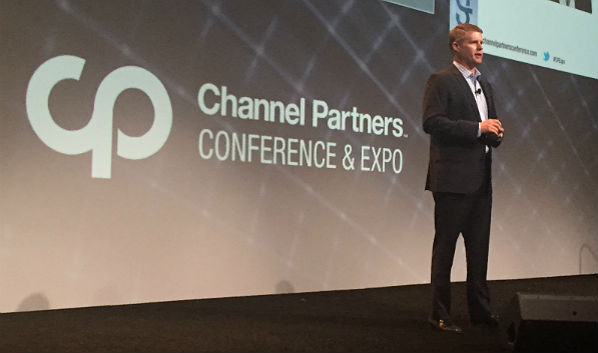 On Stage at Channel Partners: Our New Sales VP